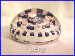 Vintage Studio Glass Paperweight PARABELLE Glass