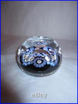 Vintage Whitefriars USA Flag, Bell, and Eagle Bicentennial Paperweight with Label
