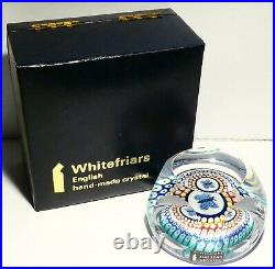 +WHITEFRIARS BUTTERFLY PS 201+ Magnum Paperweight Briefbeschwerer Sulfure +TOP+
