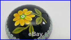 WILLIAM MANSON Art Glass PAPERWEIGHT Limited Edition 15/150