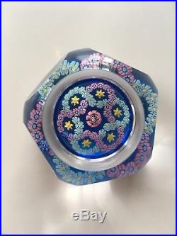 Whitefriars 1978 Concentric Millefiore Paperweight Limited Edition Smithsonian