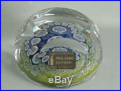 Whitefriars England Christmas Angels Paperweight LE 1975 Geoffrey Baxter #235 EC