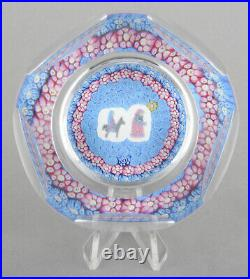 Whitefriars Glass LE Xmas 1978 Millefiori Paperweight'Journey To Bethlehem