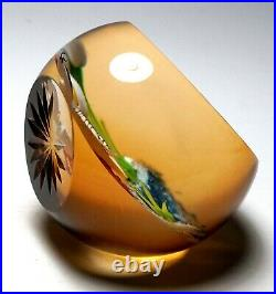 William Manson Caithness Heron 1997 Limited Edition Paperweight