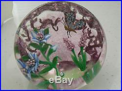 William Manson Snr Summer Glory Upright Paperweight 1/10